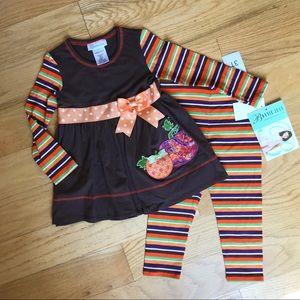 NWT Bonnie Jean autumn outfit